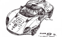 Tokyo Motor Show 2013: Kode9 sắp ra mắt tại Tokyo