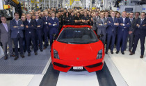 Chiếc Lamborghini Gallardo cuối cùng xuất xưởng