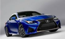 Công bố hình ảnh đầu tiên của Lexus RC F