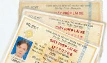 Mỗi người chỉ được cấp một giấy phép lái xe
