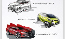 Mitsubishi ra mắt 3 mẫu xe hybrid concept ở Geneva Motor Show