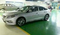 Lộ ảnh thực tế Hyundai Sonata 2015