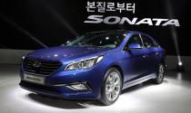 Hyundai Sonata 2015 chính thức ra mắt