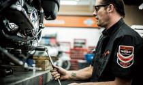 Harley-Davidson bảo trì xe tại Hà Nội
