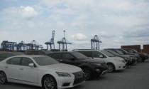 19 chiếc xe ô tô cao cấp tồn đọng tại cảng Cái Mép