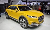 Audi giới thiệu mẫu TT Offroad concept động cơ hybrid