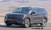 Honda CR-V thế hệ mới chạy thử nghiệm