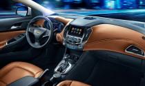 Lộ diện nội thất mướt mắt của Chevrolet Cruze 2015
