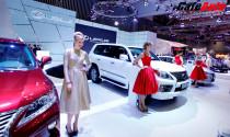 16 thương hiệu ô tô đăng ký tham dự Vietnam Motor Show 2014
