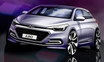 Hyundai tiết lộ hình dáng i20 thế hệ mới