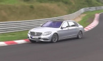 Mercedes S-Class Maybach lộ diện trên đường thử