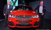 BMW X4 cập bến Malaysia trước khi về Việt Nam