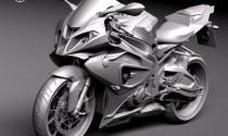 Lộ hình ảnh 3D của BMW S1000RR 2015