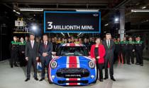 MINI ăn mừng cột mốc 3 triệu xe xuất xưởng