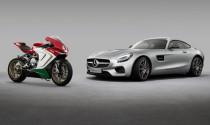 Daimler mua 25% cổ phần MV Agusta
