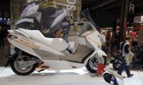 "EICMA 2014: Tay ga ""xanh"" Suzuki Burgman xuất hiện tại triển lãm"