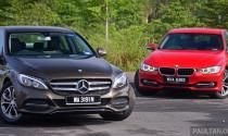 So sánh Mercedes C200 2015 và BMW 320d