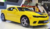 """VMS 2014: Autobot Camaro """"làm nóng"""" gian hàng Chevrolet"""