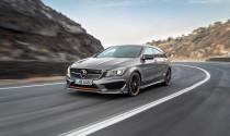 Mercedes-Benz công bố thông số kỹ thuật CLA Shooting Brake