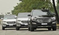 Hyundai SantaFe nội địa trình làng với giá 1,1 tỷ đồng