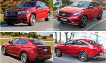 So sánh: Mercedes-Benz GLE Coupe và BMW X6