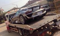 """Đại gia Campuchia """"chịu chơi"""" rước Porsche 918 Spyder"""