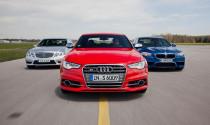 Đầu năm Audi, Mercedes-Benz vượt qua BMW về doanh số