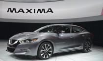 New York Auto Show 2015: Nissan chính thức giới thiệu Maxima hoàn toàn mới