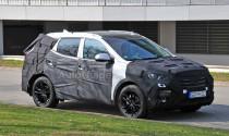 Lộ diện Hyundai Santa Fe Facelift 2016