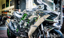 Siêu phẩm Kawasaki Ninja H2 về Sài Gòn