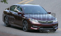 Honda Accord 2016 lộ mình trên đường thử