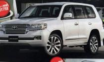 Rò rỉ hình hảnh Toyota Land Cruiser 2017