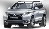 Mitsubishi Pajero Sport 2016 lộ diện