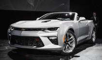 Chevrolet chính thức ra mắt Camaro Convertible 2016