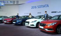 Hyundai Sonata 2016 tiết kiệm hơn với 3 động cơ mới