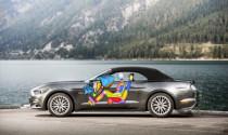 Ford phát triển túi khí đầu gối mới cho Mustang