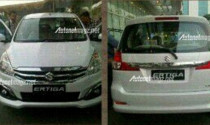 Suzuki Ertiga facelift lộ ảnh thực tế