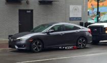 Honda Civic 2016 lộ diện trước ngày ra mắt