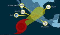 """Honda, Madza, GM chịu ảnh hưởng của cơn bão """"hủy diệt"""" Patricia"""