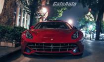 Bắt gặp siêu xe Ferrari F12 Berlinetta trên đường phố Hà Nội