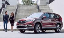 Honda CR-V bổ sung thêm màu sắc đỏ cá tính