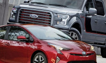 """Xe bán tải hybrid: """"Cuộc chiến"""" của hai nhà vô địch Toyota và Ford"""