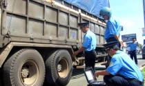 Tổng kiểm tra, xử lý xe quá tải từ 1/1/2016