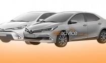 Lộ ảnh chi tiết thiết kế của Toyota Corolla 2017