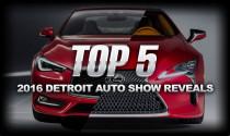 Top 5 xe được mong đợi nhất tại Detroit Auto Show 2016