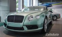 Bentley Continental GT V8 màu xanh ngọc độc đáo có giá 11,2 tỉ đồng tại Việt Nam