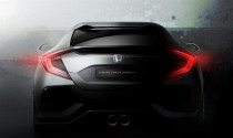 Honda Civic 2017 bản hatchback sắp xuất hiện tại Geneva Motor Show 2016
