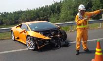 """Siêu xe Lamborghini Huracan """"tử nạn"""" trên đường cao tốc Long Thành – Dầu Giây"""