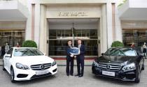 Mercedes-Benz Việt Nam bàn giao đội xe E-Class cho khách sạn 5 sao Rex