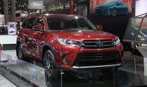 Toyota Highlander 2017 mạnh hơn với động cơ mới
